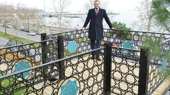 Tekirdağ Atatürk Tuna Boyu Seyir Parkında sona gelindi