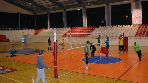 Ilgın Uğur Spor maçı hazırlığı
