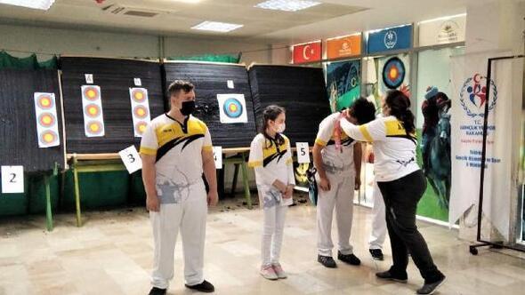 Süleymanpaşanın genç okçuları turnuva heyecanı yaşadı