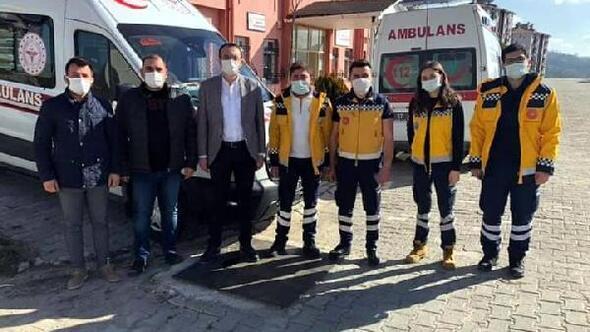 Simava tam donanımlı ambulans