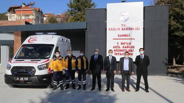 Çameliye tam donanımlı ambulans