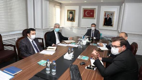Başkan Palancıoğlu, birim müdürleriyle toplantı gerçekleştirdi