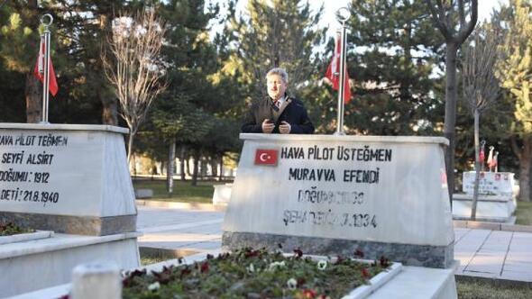 Başkan Palancıoğlundan Kartal Şehitliğine ziyaret