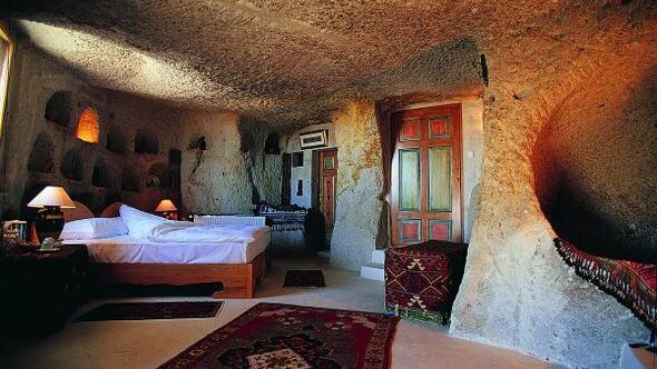 Kapadokya, 14 Şubat Sevgililer Gününe hazır