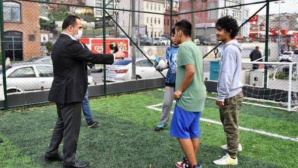 Başkan Yıldız'dan gençlere 'Hasköy Spor Tesisi'