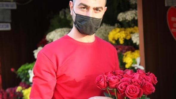Kayseride çiçekçilerde 14 Şubat yoğunluğu
