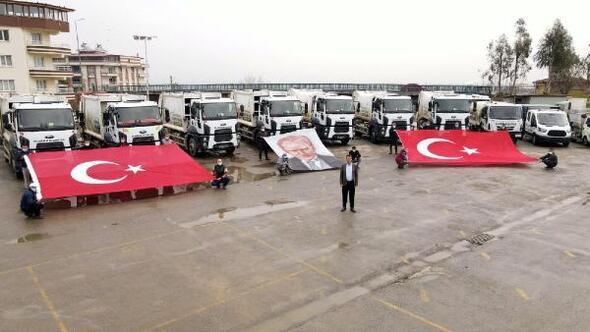 Alaşehir Belediyesinin araç filosu daha da genişledi