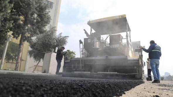 Yüreğir Belediyesi'nde 150 bin ton asfalt hedefi