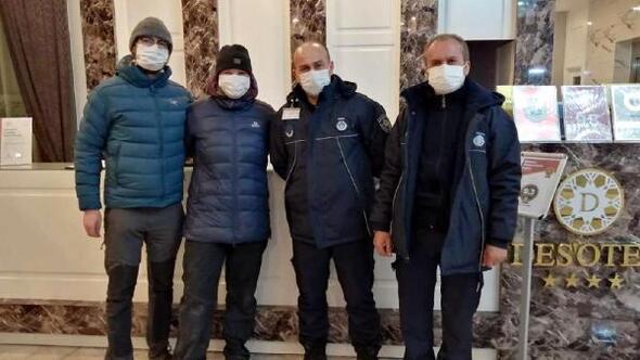 Karda mahsur kalan Alman çifte Süleymanpaşa Belediyesi sahip çıktı