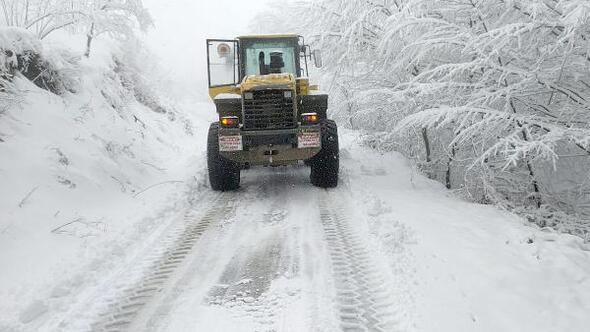 Büyükşehir Belediyesi, kar için teyakkuza geçti
