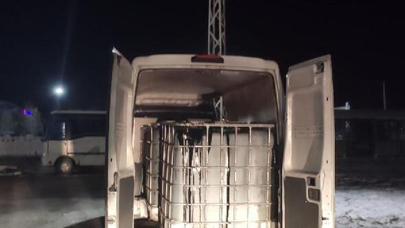 30 bin litre kaçak akaryakıta 5 gözaltı