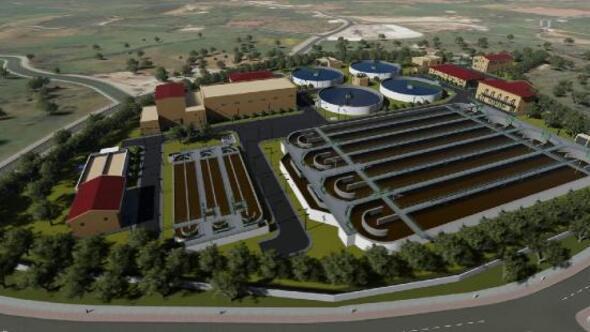 Bodrumun en büyük arıtma tesisinin inşaatı başladı