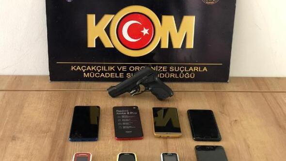 Adıyamanda kaçak cep telefonu operasyonu: 7 gözaltı