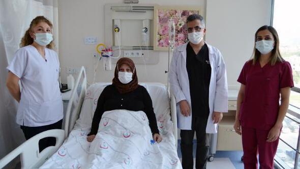 Delirten hastalıktan ameliyatla kurtuldu