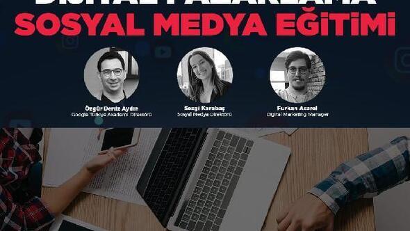 Dijital pazarlama ve sosyal medya eğitimine rekor başvuru