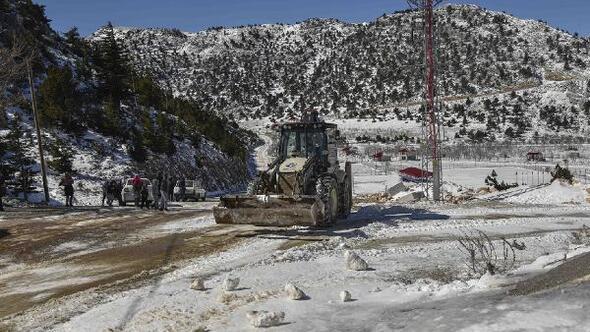 Büyükşehir karla mücadele ediyor, sokak canlılarını besiyor