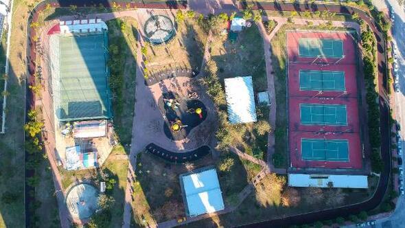 Büyükşehir Belediyesi, Spor Park Tesisleri'ni yeniden dizayn etti