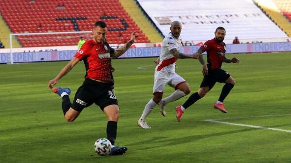 Gaziantep FK - Fraport TAV Antalyaspor: 0-0