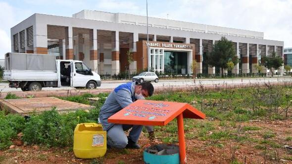 Konyaaltı Belediyesinden AÜye beslenme odağı