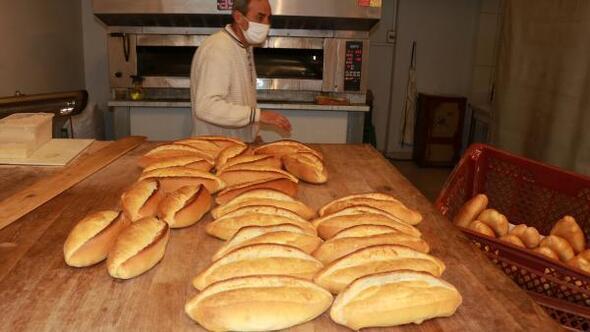 Burdurda 200 gram ekmek 1,5 lira