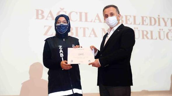 Pandeminin savaşçıları 'Zabıta ekipleri'ne teşekkür plaketi