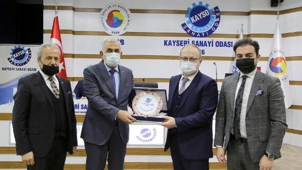 Özbekistanlı iş insanlarından KAYSOya ziyaret