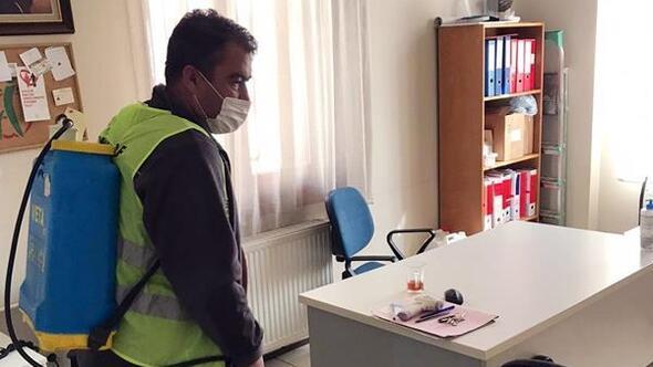 19 bin 275 nokta dezenfekte edildi