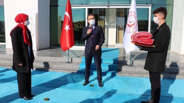 Anadolu Gönül Yolu projesinin ay-yıldızlı bayrağı Çankırıdan uğurlandı