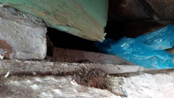 Tavan arasına gizlenen uyuşturucu bulundu; 2 gözaltı