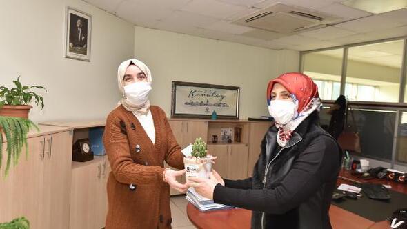 Karatay Belediyesi Kent Konseyinden, 8 Mart Dünya Kadınlar Günü ziyareti