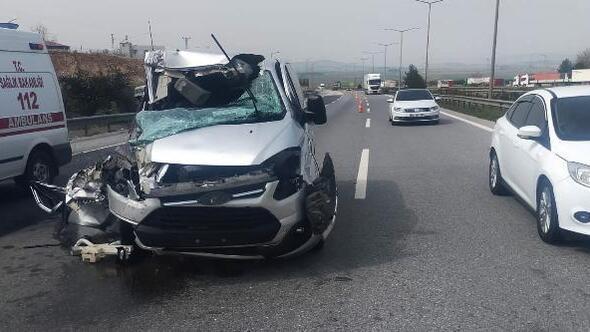 Nurdağında kaza: 2 yaralı