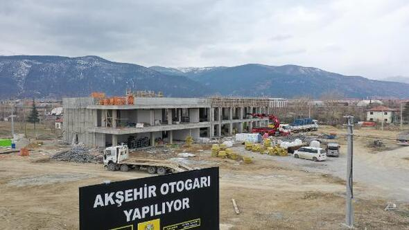 Akşehire yeni otogar binası kazandırılıyor