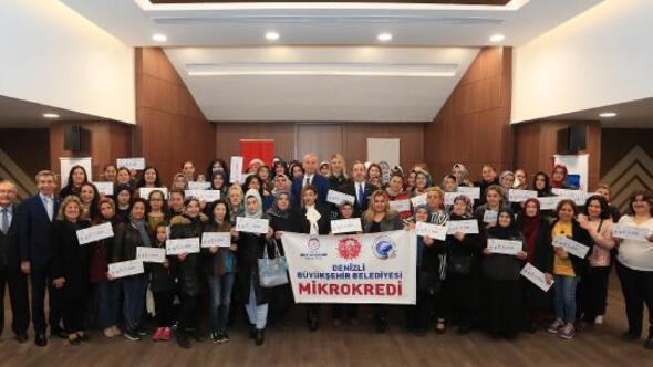 Mikrokredi, 2 bin 481 kadına 14 milyon 100 bin lira destek sağladı