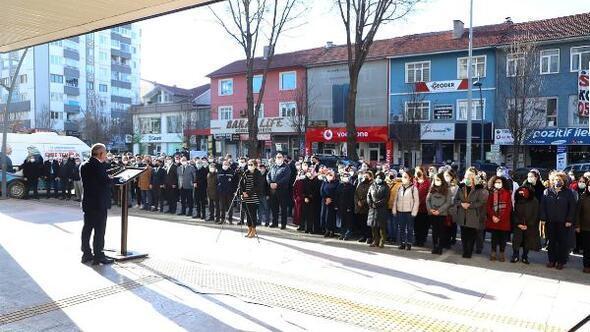 Çankırı'da, 100üncü Yılda 100 Hoparlörden İstiklal Marşı etkinliği