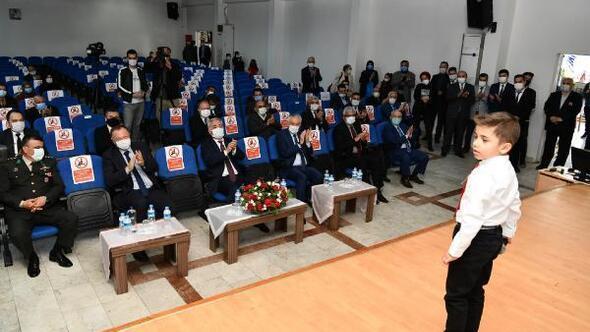 Ispartada İstiklal Marşının 100. Yılı kutlaması