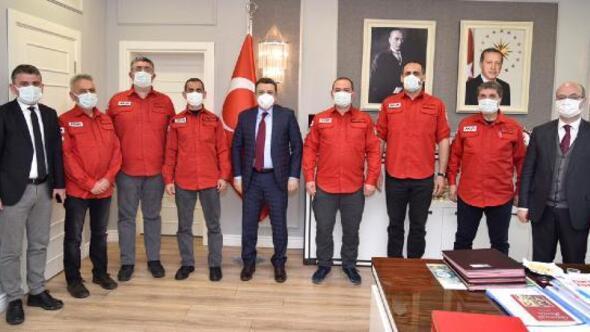 AKUT Başkanı Şalcıdan 25'inci kuruluş yıl dönümü ziyaretleri