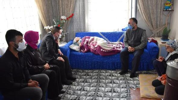 Başkan Beyoğlundan böbrek yetmezliği hastası kadına destek