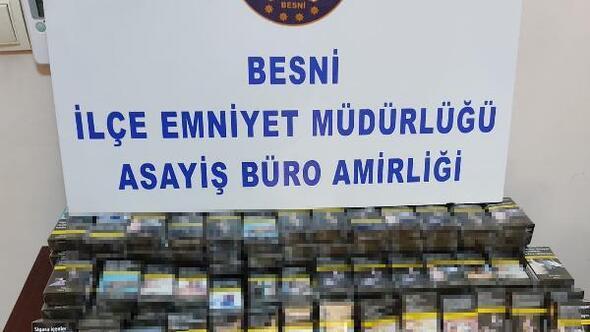 Marketten sigara hırsızlığına 1 tutuklama