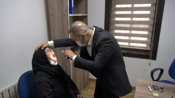 Kırıkkalede yaşlılar sağlık kontrolünden geçirildi