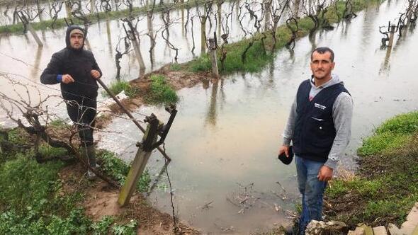 Alaşehirde çiftçilere zirai don uyarısı