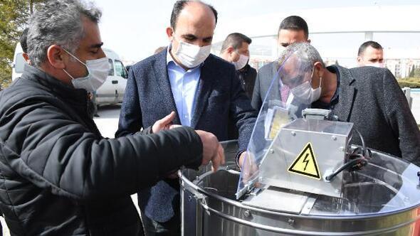Konya Büyükşehir Belediyesinden, bal üreticilerine 2 milyon ekipman desteği