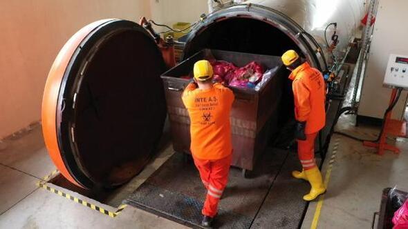Mersin Büyükşehir Belediyesi, 2 milyon 852 ton tıbbi atığı bertaraf etti