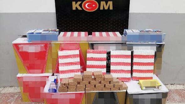 Malatyada 116 bin 800 kaçak makaron ele geçirildi