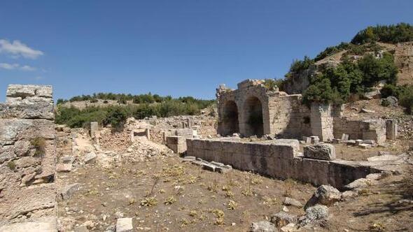 Kremna Antik Kentinde kazı çalışmaları