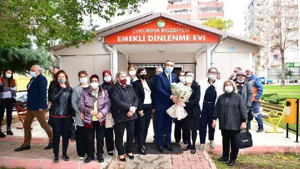 Başkan Çetin: Yaşlıların hayatlarını kolaylaştıracak projeler üretmeye devam edeceğiz