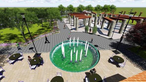 Kuşadası kent merkezini yeşillendirecek