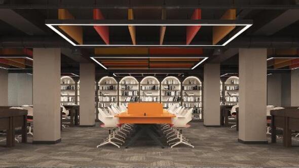 Talas'a yeni kütüphane