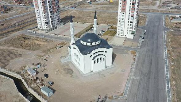 Kocasinanda yapımı tamamlanan cami ibadete açılacak