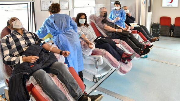 Kan bağışı kampanyasına EGO'dan destek