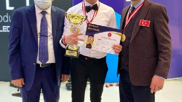 Muşlu kuaför Tekin, Antalyadaki festivalden ödülle döndü